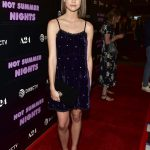 Maia Mitchell Attends the Hot Summer Nights Screening in Los Angeles 07/11/2018-2