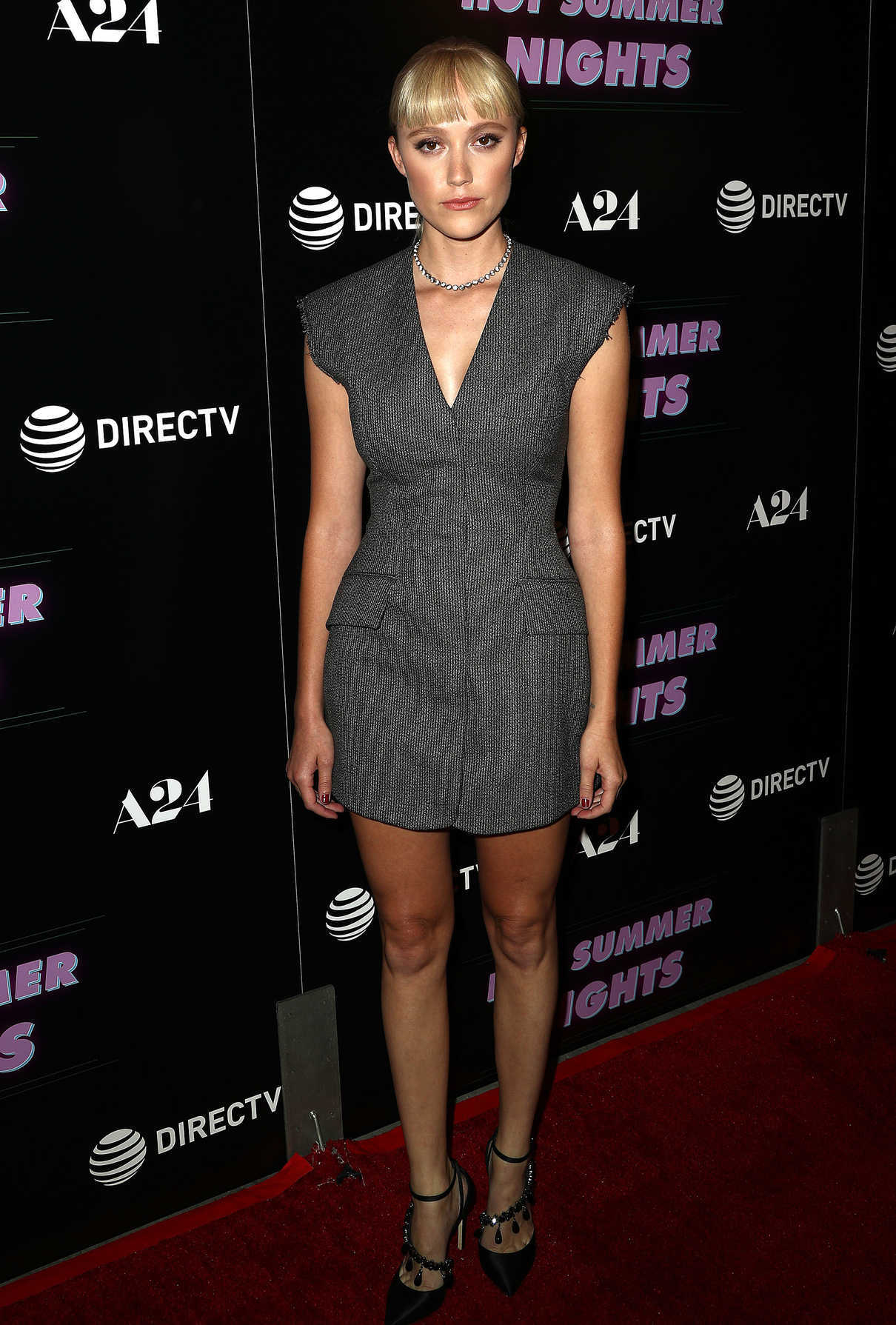 Maika Monroe Attends the Hot Summer Nights Screening in Los Angeles 07/11/2018-1