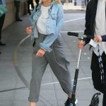 Mollie King Arrives at BBC Studios in London 07/12/2018-2