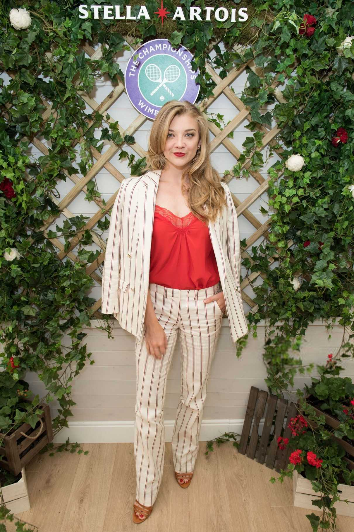 Natalie Dormer at the Championship Wimbledon Hosted by Stella Artois in London 07/02/2018-1