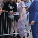 Neve Campbell Arrives at Good Morning America in New York 07/12/2018-3