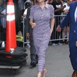 Neve Campbell Arrives at Good Morning America in New York 07/12/2018-4