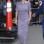 Neve Campbell Arrives at Good Morning America in New York 07/12/2018-5
