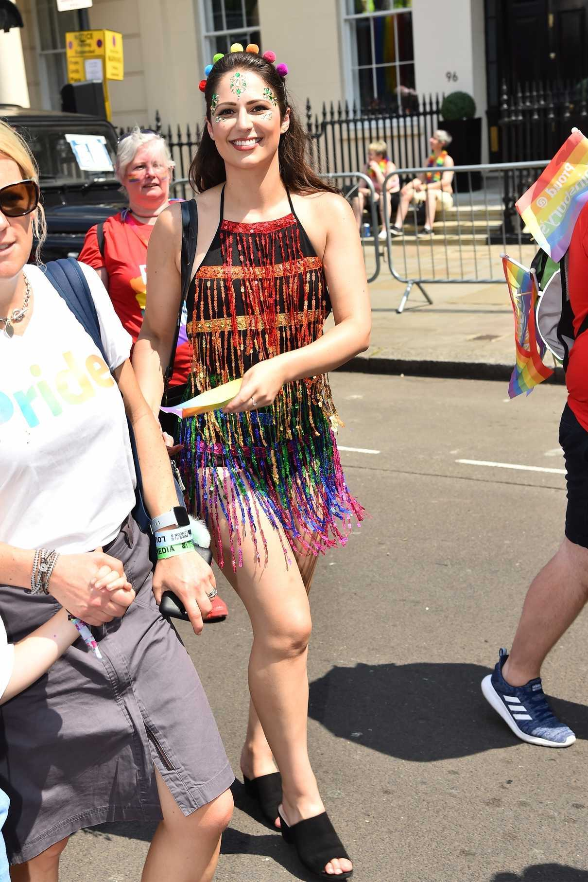 Nicola Thorp Takes Part in the Pride Parade in London 07/07/2018-1