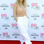 Rita Ora Performs at the Go Pool at the Flamingo Hotel and Casino in Las Vegas 07/13/2018-3