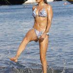Sylvie Meis in Bikini on the Beach in Mykonos 07/06/2018-3