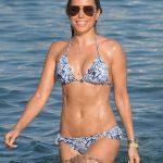 Sylvie Meis in Bikini on the Beach in Mykonos 07/06/2018-5