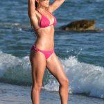 Sylvie Meis in Bikini on the Beach in Mykonos 07/12/2018-3