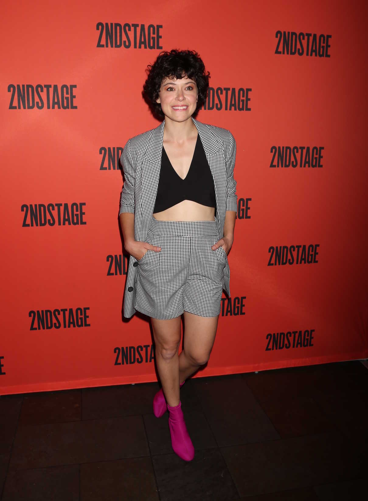 Tatiana Maslany at the Mary Page Marlowe Off-Broadway Play Opening Night in New York 07/12/2018-1