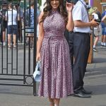 Vicky Pattison Arrives with Her Fiance John Noble at Wimbledon Tennis Tournament in London 07/09/2018-3
