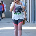 Busy Philipps Talks on the Phone