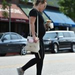 Hilary Duff in a Nike Flyknit Trainers