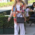 Kathryn Newton in a White Pants Was Seen Out in Beverly Hills 08/20/2018