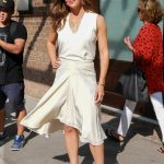 Jennifer Garner in a White Dress