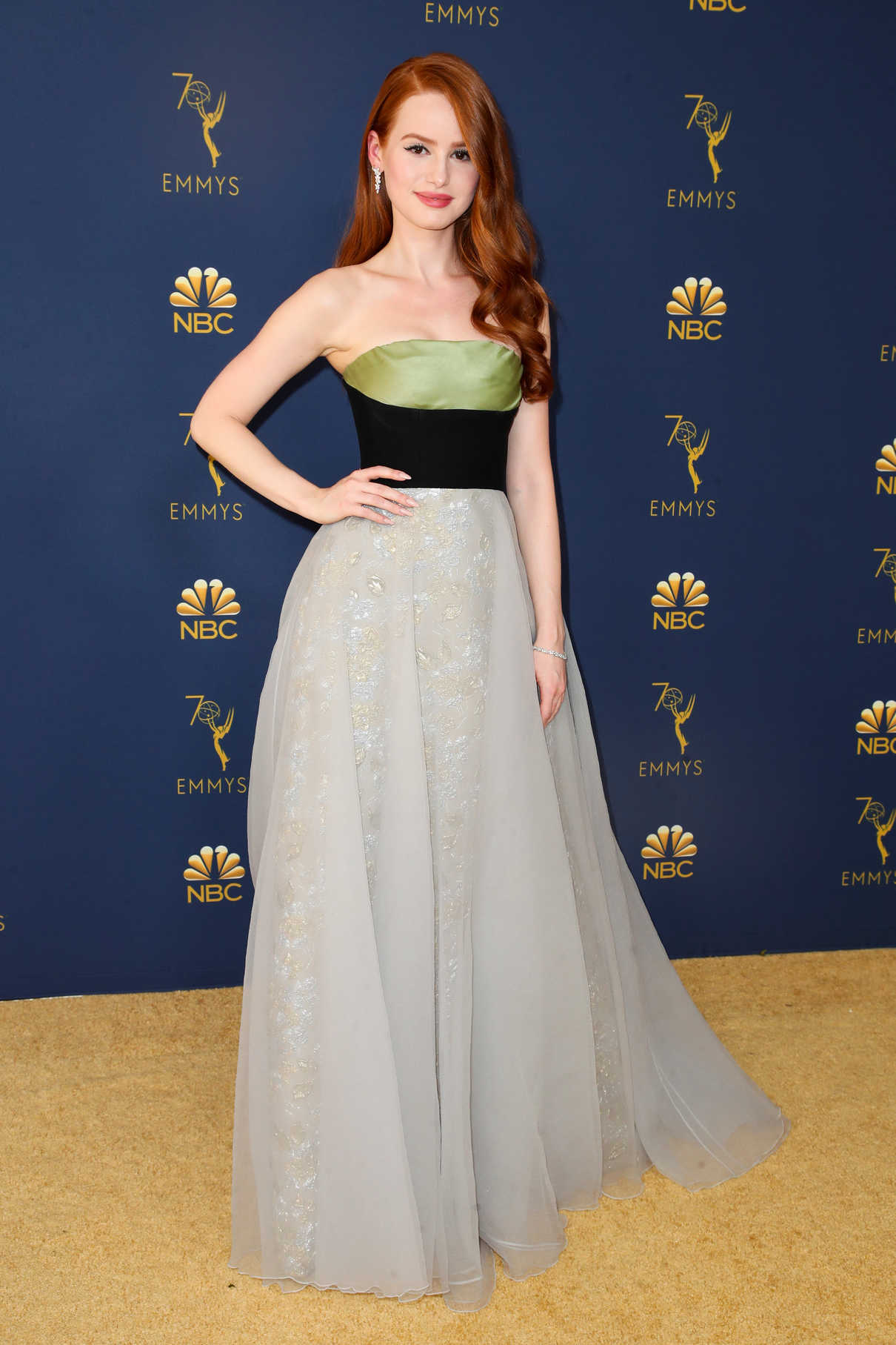 Madelaine Petsch at the 70th Primetime Emmy Awards in LA ...