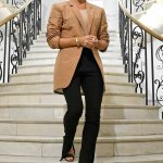 Victoria Beckham Arrives at the Victoria Beckham Show During London Fashion Week in London 09/16/2018
