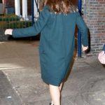 Jennifer Garner in a Green Coat