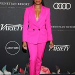 Regina King Attends Power of Women: Los Angeles Event in Los Angeles 10/12/2018