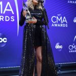 Carrie Underwood Attends the 52nd Annual CMA Awards at the Bridgestone Arena in Nashvill 11/14/2018