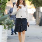 Jennifer Garner in a White Blouse
