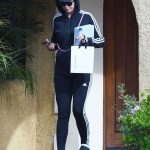 Katy Perry in a Navy Adidas Tracksuit