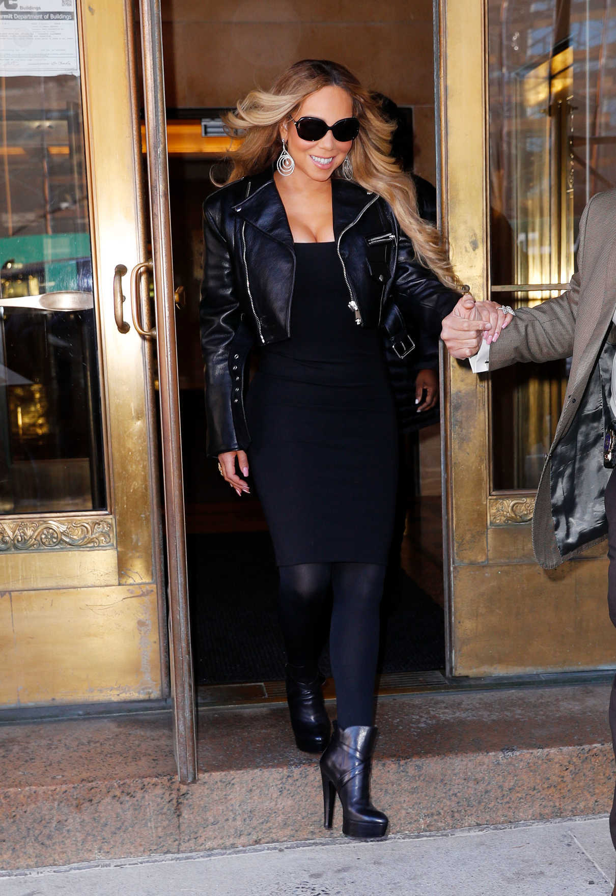 Mariah Carey in All Black