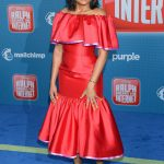 Taraji P. Henson Attends the Ralph Breaks the Internet Premiere in Hollywood 11/05/2018