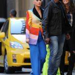 Katy Perry in a Rainbow Blazer