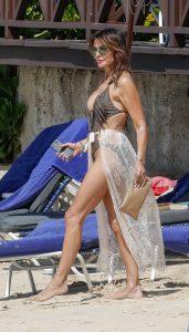 Lizzie Cundy in Bikini