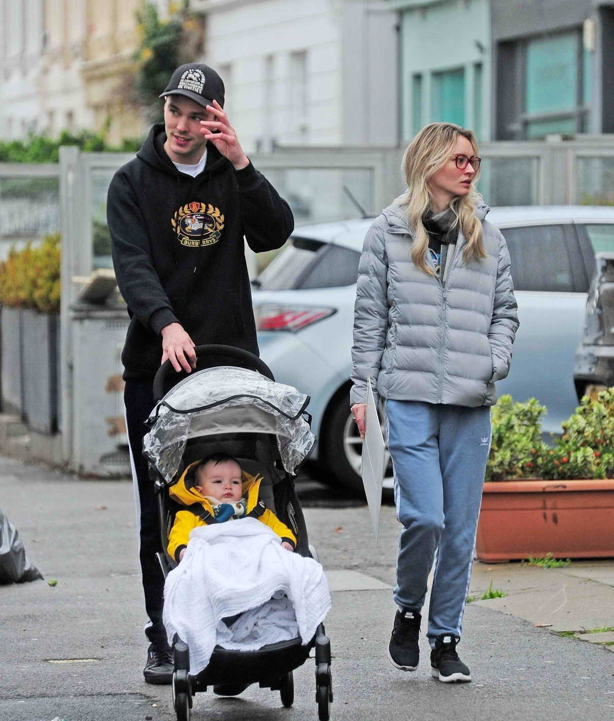 Nicholas Hoult Was Seen Out with Bryana Holly and Their
