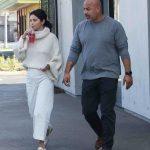 Selena Gomez in a White Sweater