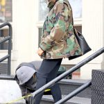 Victoria Beckham in a Camo Jacket Was Seen Out in New York City 11/29/2018