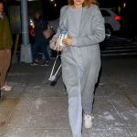 Gigi Hadid Leaves Zayn Malik's Apartment