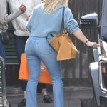 Hilary Duff in a Blue Jeans
