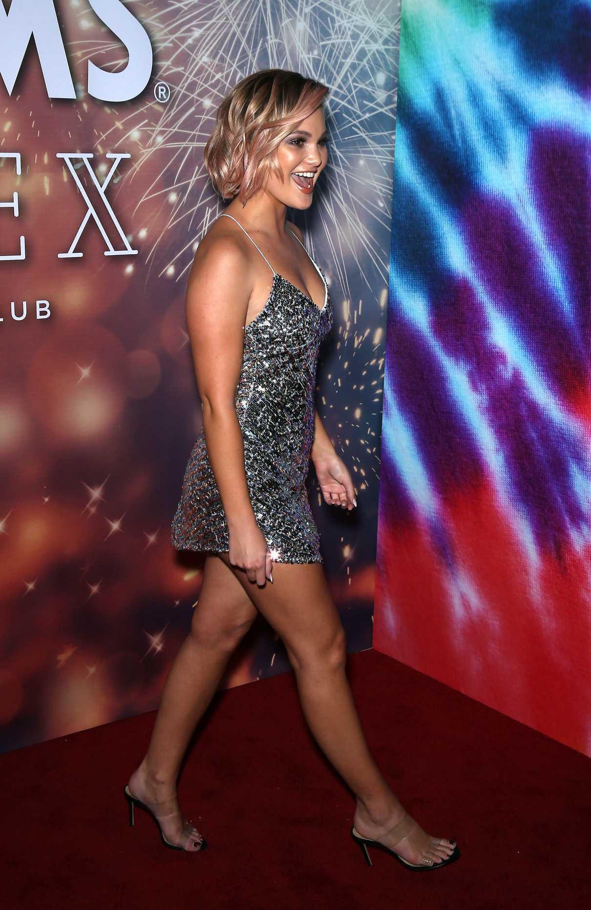 Olivia Holt - APEX Social Club in Las Vegas 01/01/2019