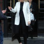 Charlotte McKinney in a White Blazer