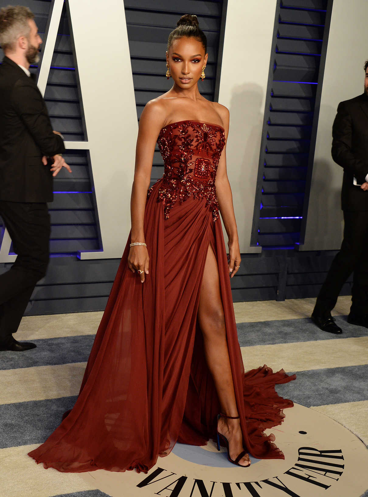 Jasmine Tookes Attends 2019 Vanity Fair Oscar Party In Beverly Hills 02 24 2019 3 Lacelebs Co