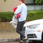 Jennifer Garner in a Black Leggings