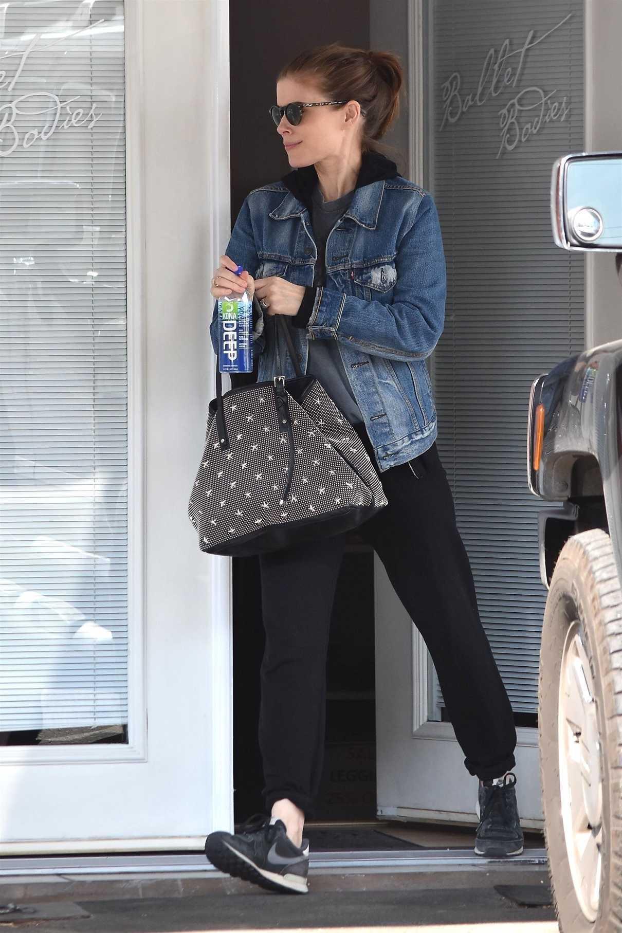 Kate Mara in a Denim Jacket