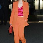 Kristen Bell in an Orange Suit