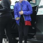 Ariel Winter in a Blue Jacket