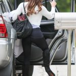Kate Beckinsale in a Black Leggings