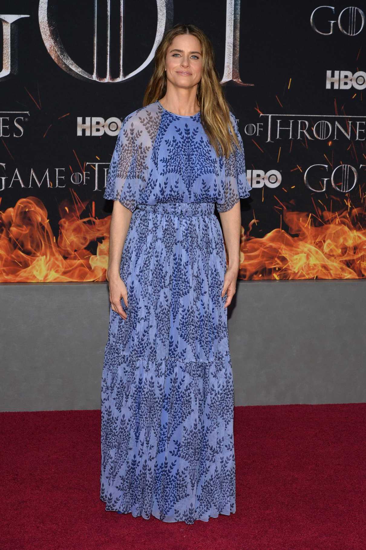 Amanda Peet Attends the Game of Thrones Season 8 Premiere ...