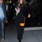 Gigi Hadid in a Black Boots