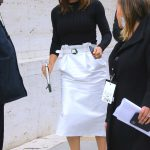 Jennifer Garner in a White Skirt