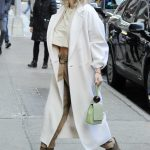 Kate Hudson in a White Coat
