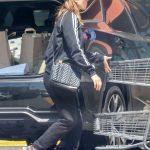 Kate Mara in a Black Adidas Track Jacket