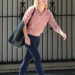 Kristen Bell in a Pink Hoody