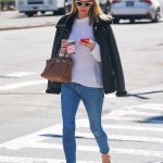 Nicky Hilton in a Blue Jeans