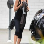 Nicole Richie in a Black Tank Top